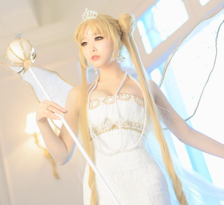 Neo Queen Serenity Cosplay: 韩国性感姐妹花上阵 经典美少女战士唯美Cos图赏_www.3dmgame.com