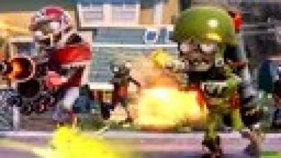 植物大战僵尸:花园战争 僵尸视角团队战解说视频-全明星僵尸