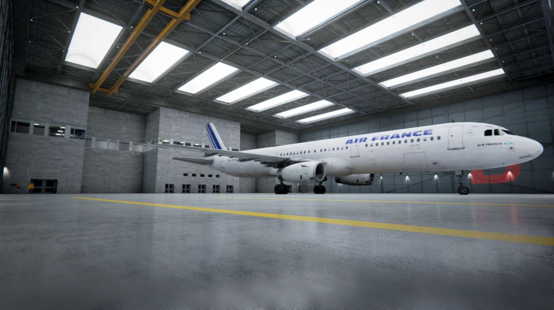 真实度爆表 用虚幻引擎4打造史上最真实的飞机库
