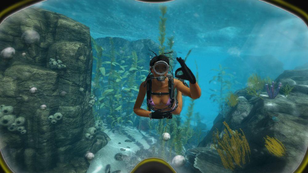 壁纸 海底 海底世界 海洋馆 水族馆 游戏截图 1000_563