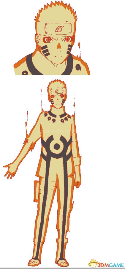 《火影忍者》最终剧场版更多人设图 鸣人之子可爱