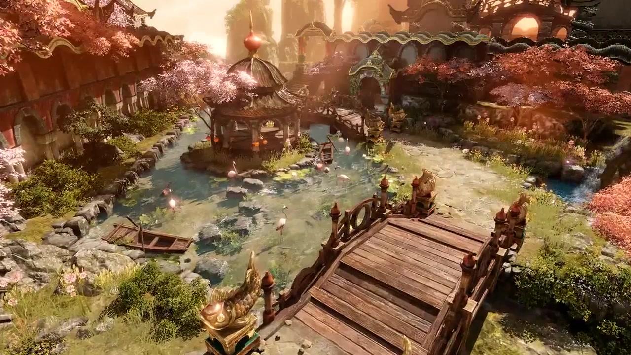 免费动作rpg游戏作品《失落方舟》公布宣传视频图片
