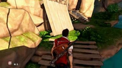 逃离死亡岛 娱乐全流程实况解说视频 切僵尸如切水果-第2期(登陆作死岛)