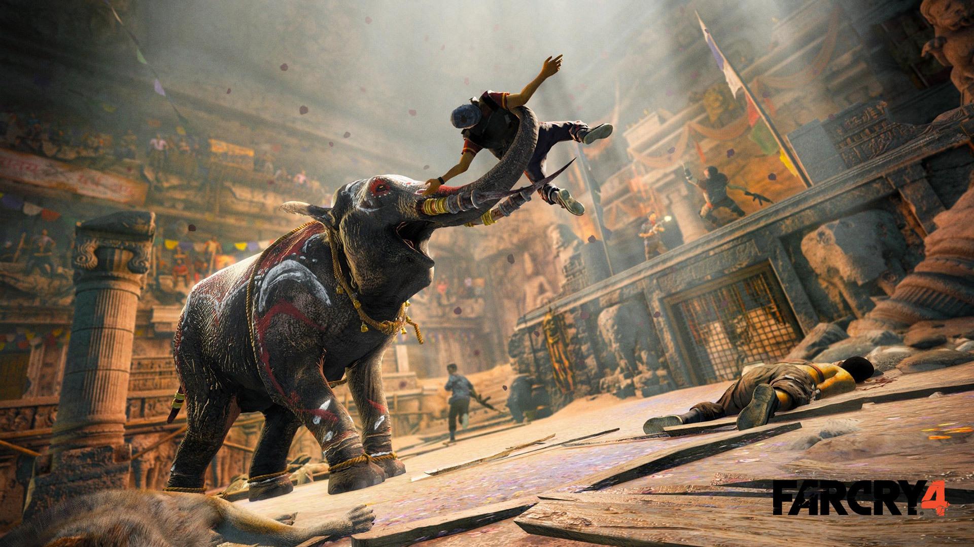 单机游戏首页 攻略中心 游戏攻略 孤岛惊魂4攻略  另外,在躲犀牛和熊