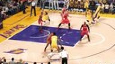 NBA 2K15 湖人对快船比赛全流程实况解说视频-第1集
