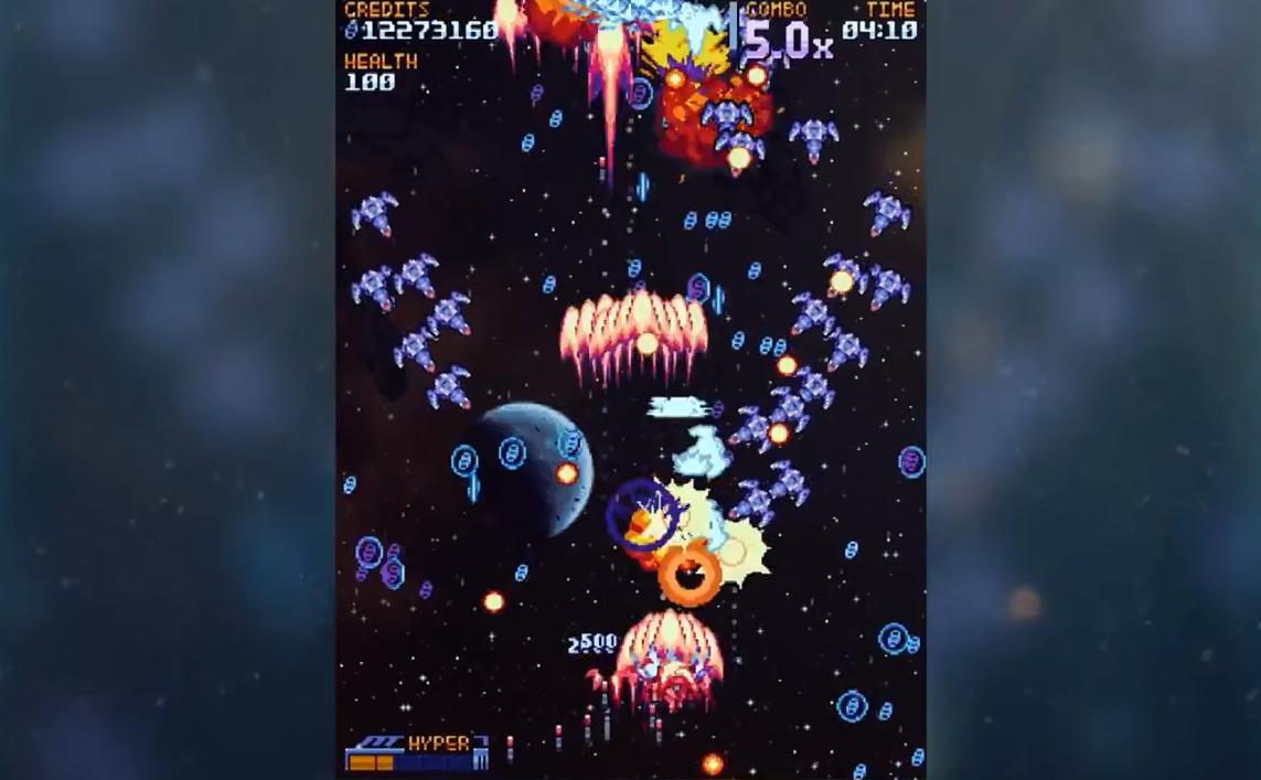 复古风太空打飞机游戏《超银河战队》登陆steam