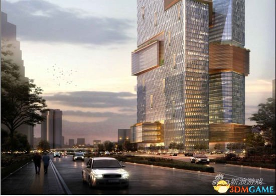 """这种巧妙的建筑结构也与马化腾提出的""""腾讯"""