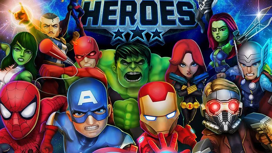组建队伍击败对手 《漫威超级英雄》将登手机平台图片