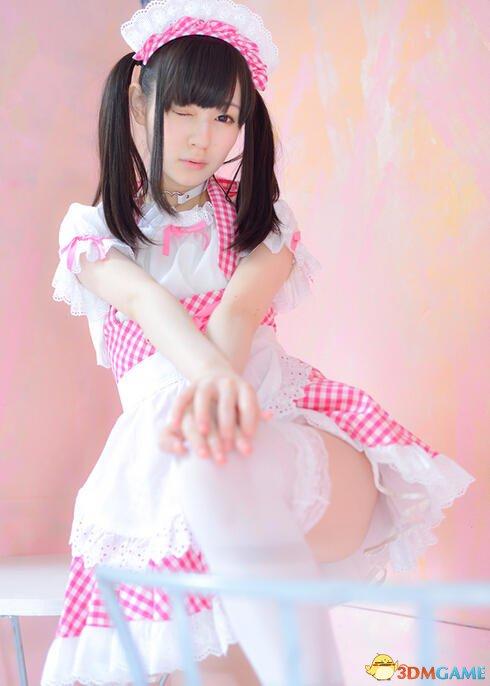 日本清纯美少女旗袍cos美图赏 裙子开衩开的好高