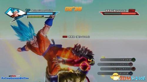 龙珠 超宇宙蓝发悟空大战超赛4悟空秒杀赛亚4 www.3dmgame.com