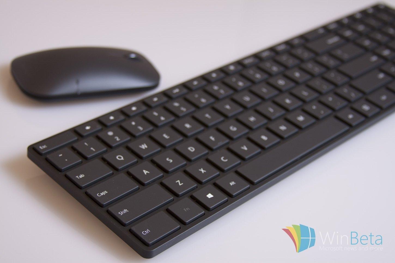 微软推出新款蓝牙无线键鼠:简约时尚售价600元