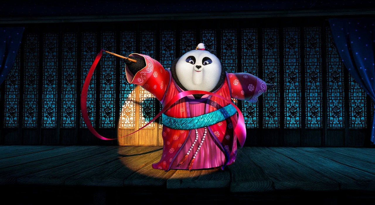 《功夫熊猫3》剧照首次曝光!黑白胖子阿宝要当爹