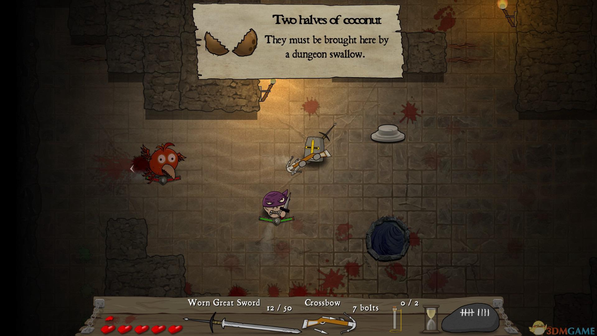 这是一款风格独特的地牢冒险游戏,玩家将扮演骄傲的骑士在无尽的深渊