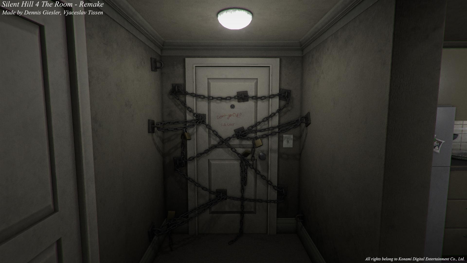 寂静岭4游戏视频_玩家用Unity 5引擎重制《寂静岭4:房间》公寓_www.3dmgame.com