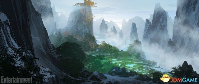 欧星娱乐:《功夫熊猫3》场景概念图公开 阿宝家乡风景逆天