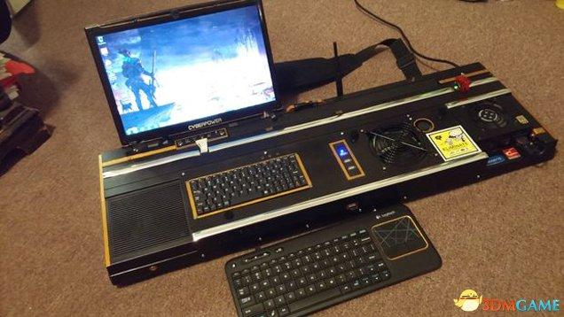 欧星在线娱乐备用网址:国外玩家自制《暗影狂奔》便携式PC电脑