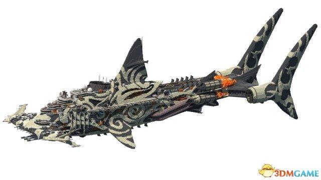 欧星在线娱乐备用网址:城里人会玩 玩家用《我的世界》打造霸气飞行巨兽
