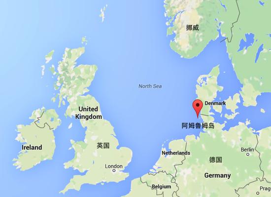北海世界地图位置