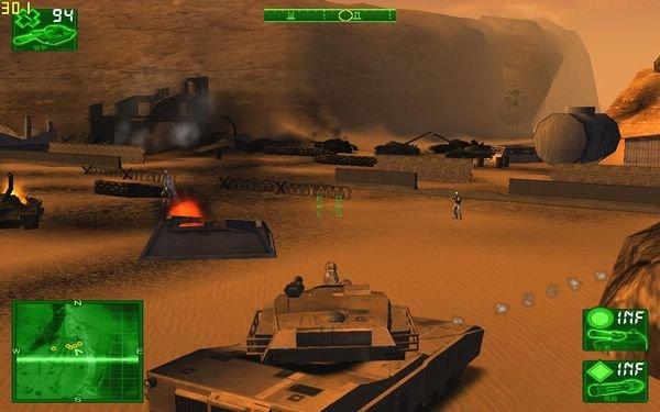 单机游戏大全 射击(fps) 沙漠惊雷     游戏画面做得非常不错.