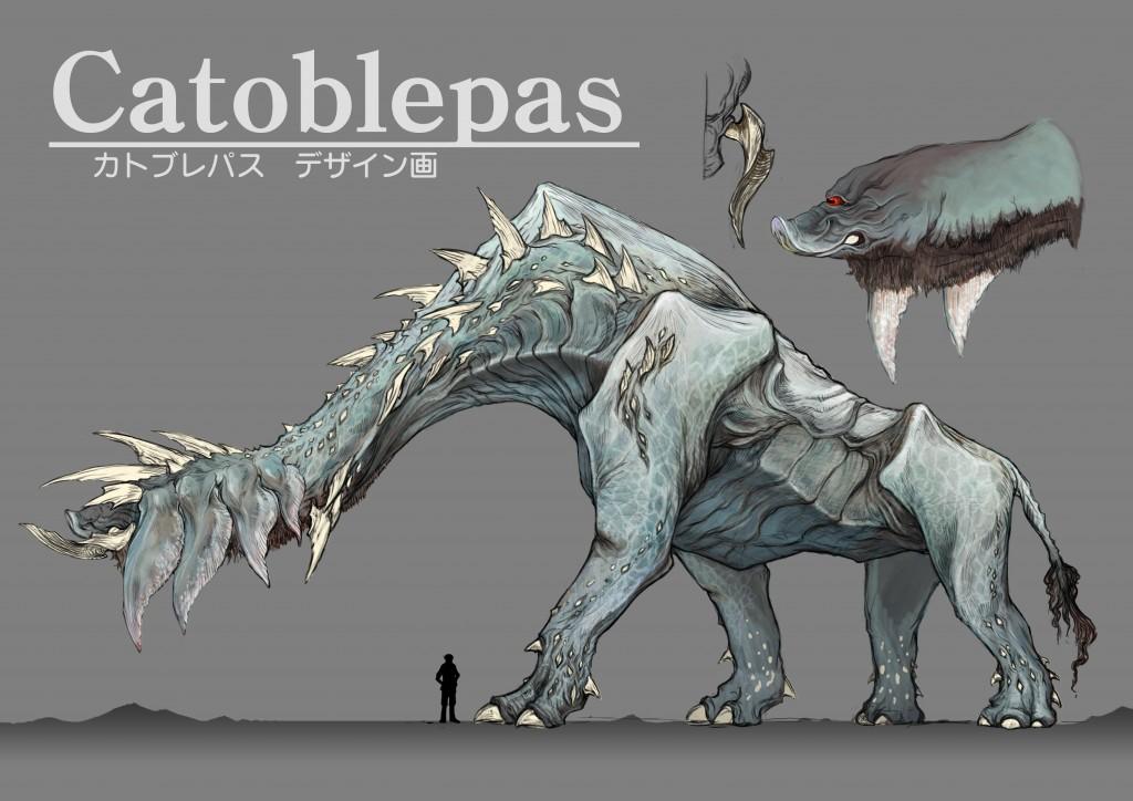 《最终幻想15》巨型怪兽catoblepas概念图曝光