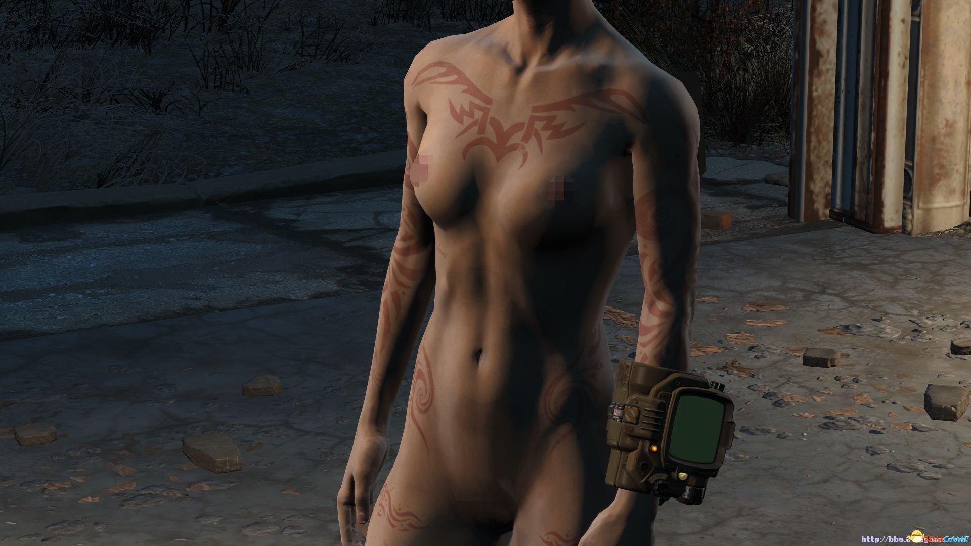 d女性果体图腾纹身mod