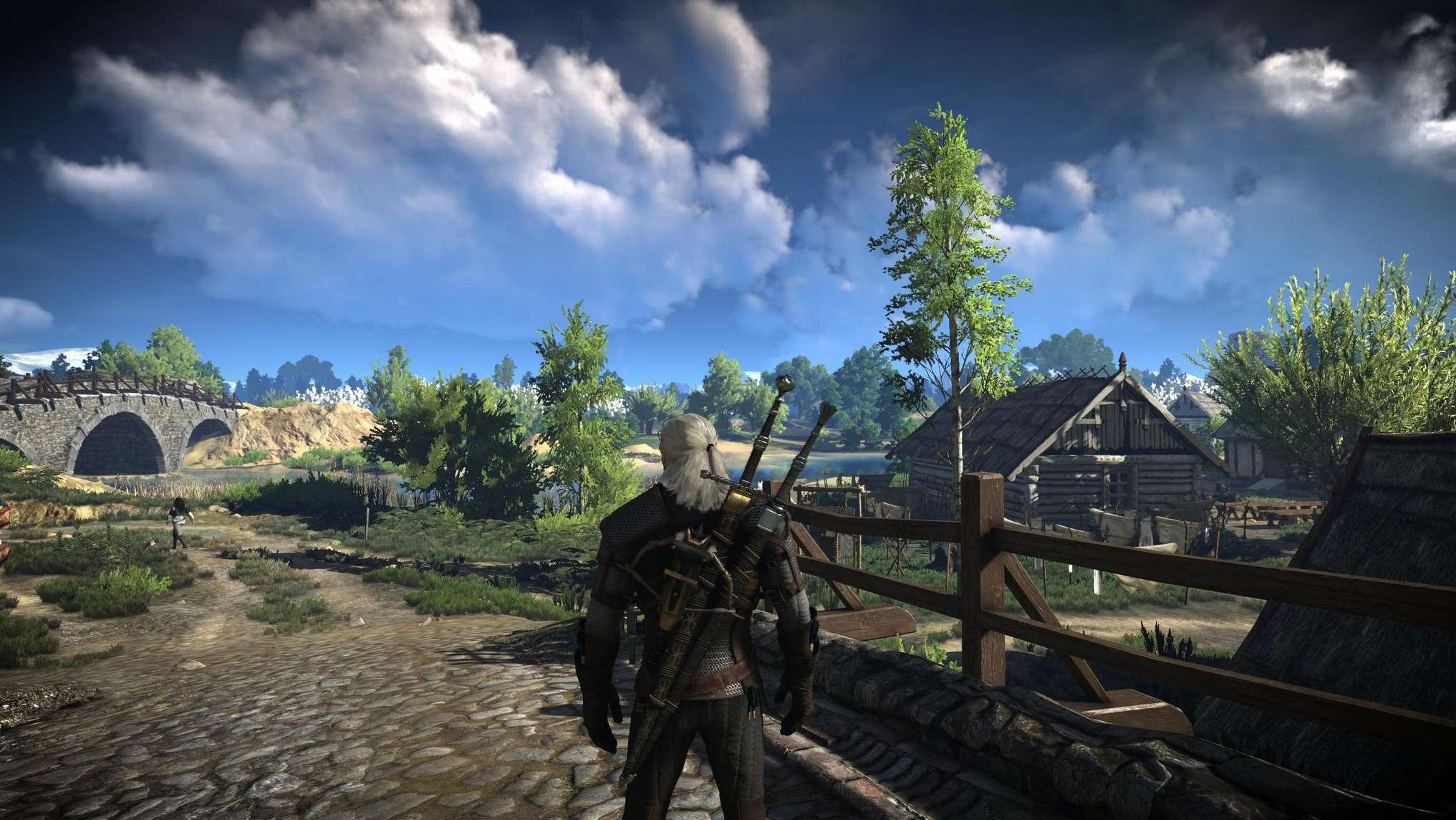 《巫师3:狂猎》增强光照系统mod多幅高清图展示