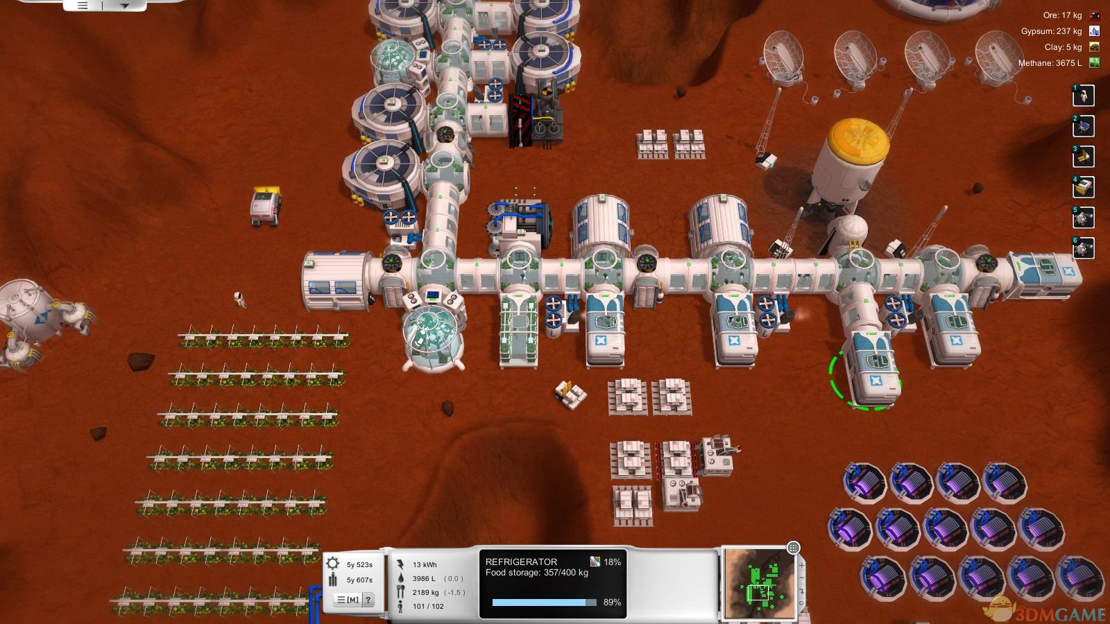 话说回来,《第零天:火星殖民》在基地的建设方面难度要低一点,可以在