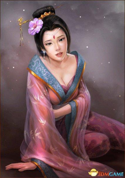 吕绮玲,武力值88的女人,比高顺邓艾孟获夏侯霸还要高!