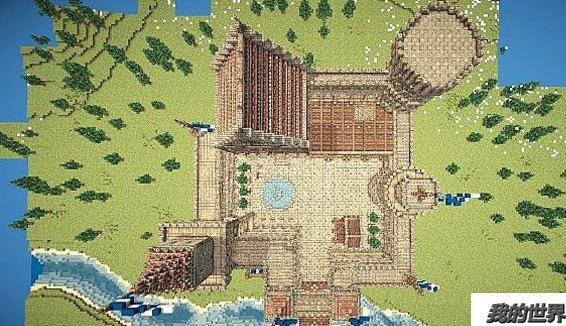 我的世界鱼干地图_我的世界中世纪城堡图中世纪哥特式城堡地图存档_www.3dmgame.com
