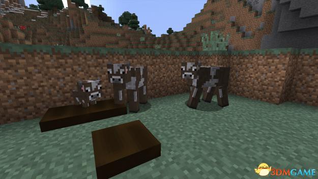 我的世界 1.8.0饥饿动物mod