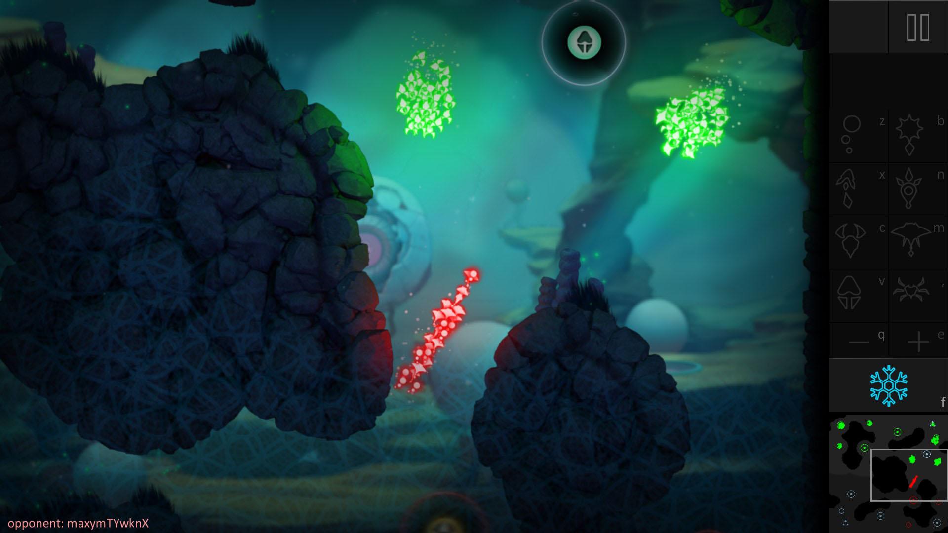 苹果2011年度iPad游戏《Contre Joir》开发商Mokus Games日前为旗下PC平台新作《变异体入侵(BOID)》公布了一部预告片,以庆祝该作即将登陆Steam抢先体验。《变异体入侵》是一部风格独特的实时战略游戏,它需要你快速动脑想出策略,而不是一味地暴力碾压。 在《变异体入侵》中,一架生物有机侵染无人机紧急着陆在一颗星球上,并需要让其中的原始生命进化为高级的变异体,并获得特殊的技能,这些生命形式将为统治而战! 《变异体入侵》是Mokus Games由移动平台转为PC平台的转型之作,给人的