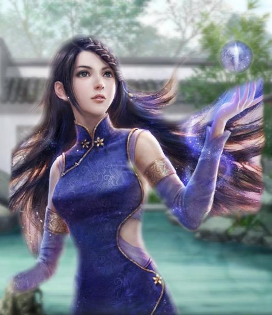 三国志13 网游风格女武将头像mod图片