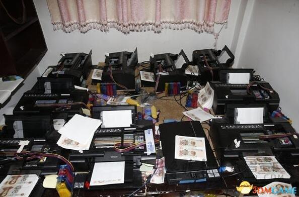 23歲大弟子奪目PS用打印機造千萬假幣:以假亂真