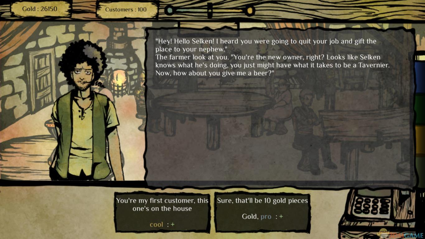 游戏中玩家将进入中世纪幻想世界的酒店进行经营,必须让你的生意繁荣