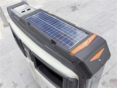 重庆现太阳能智能垃圾箱