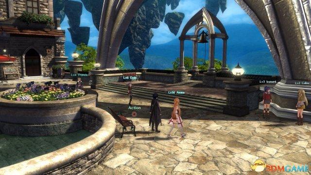 《刀剑神域:虚空领悟》新截图 桐人撩妹技能MAX