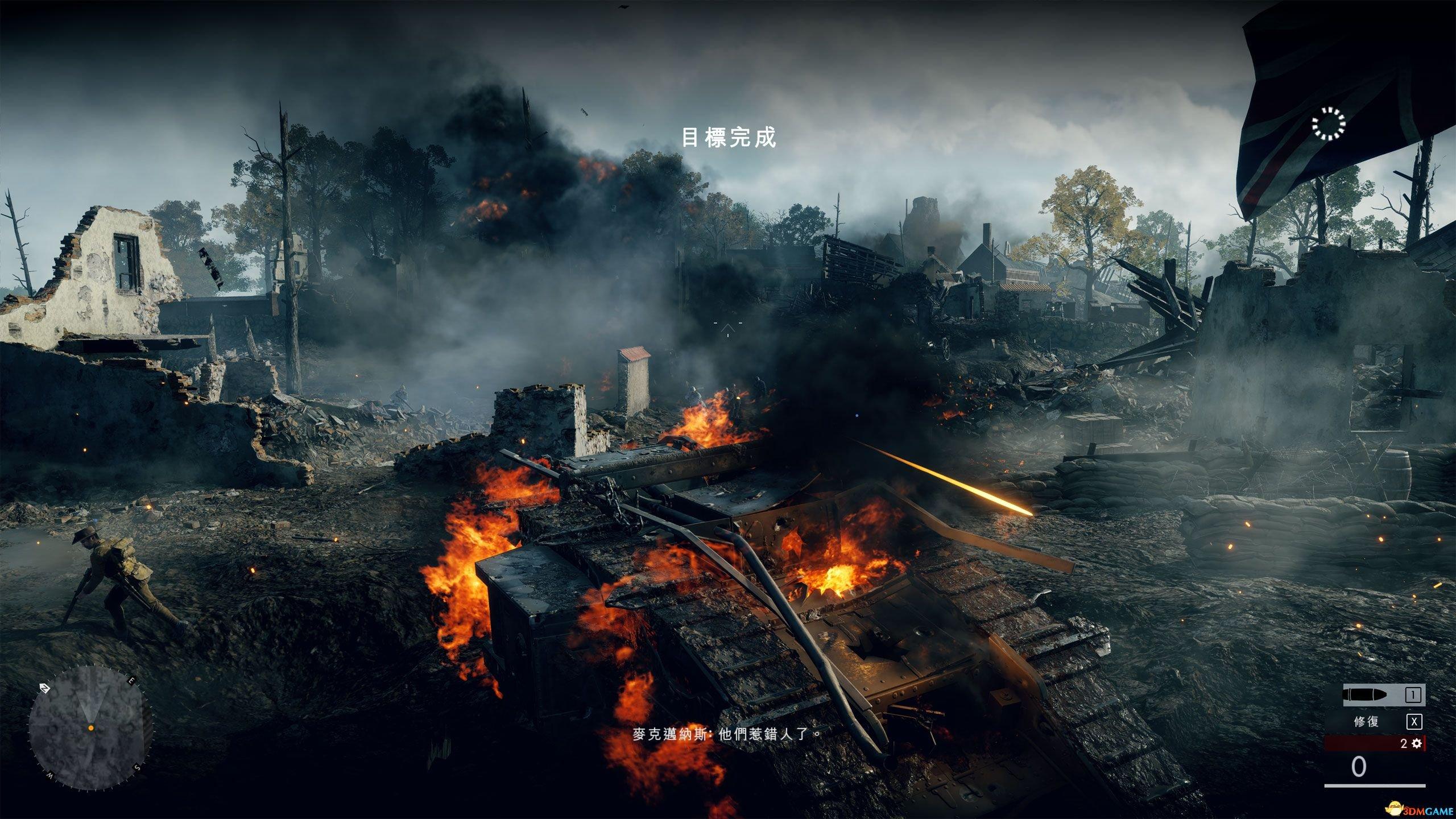 战地1画面展示 4K高特效实机画面测试 战地1画面好吗