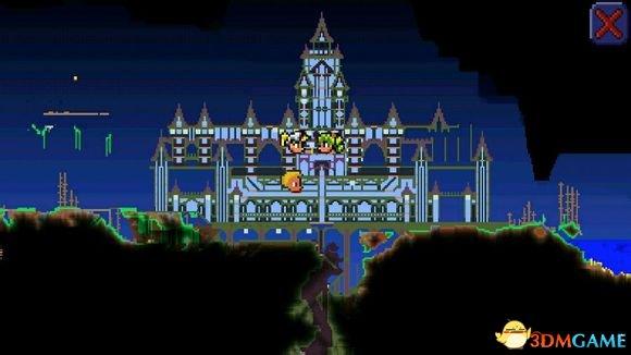 泰拉瑞亚别墅_泰拉瑞亚房子设计图大全泰拉瑞亚别墅设计图汇总_蓝色月光城堡