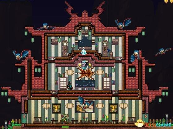 泰拉瑞亚别墅_泰拉瑞亚房子设计图大全泰拉瑞亚别墅设计图汇总_中国风别墅