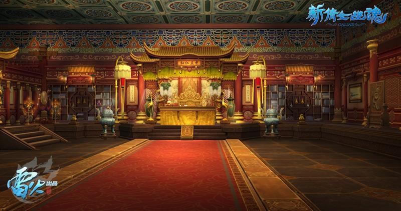 这两个宫殿名字均源于道德经,取天地第一的意思,象征着帝王是天地间最图片