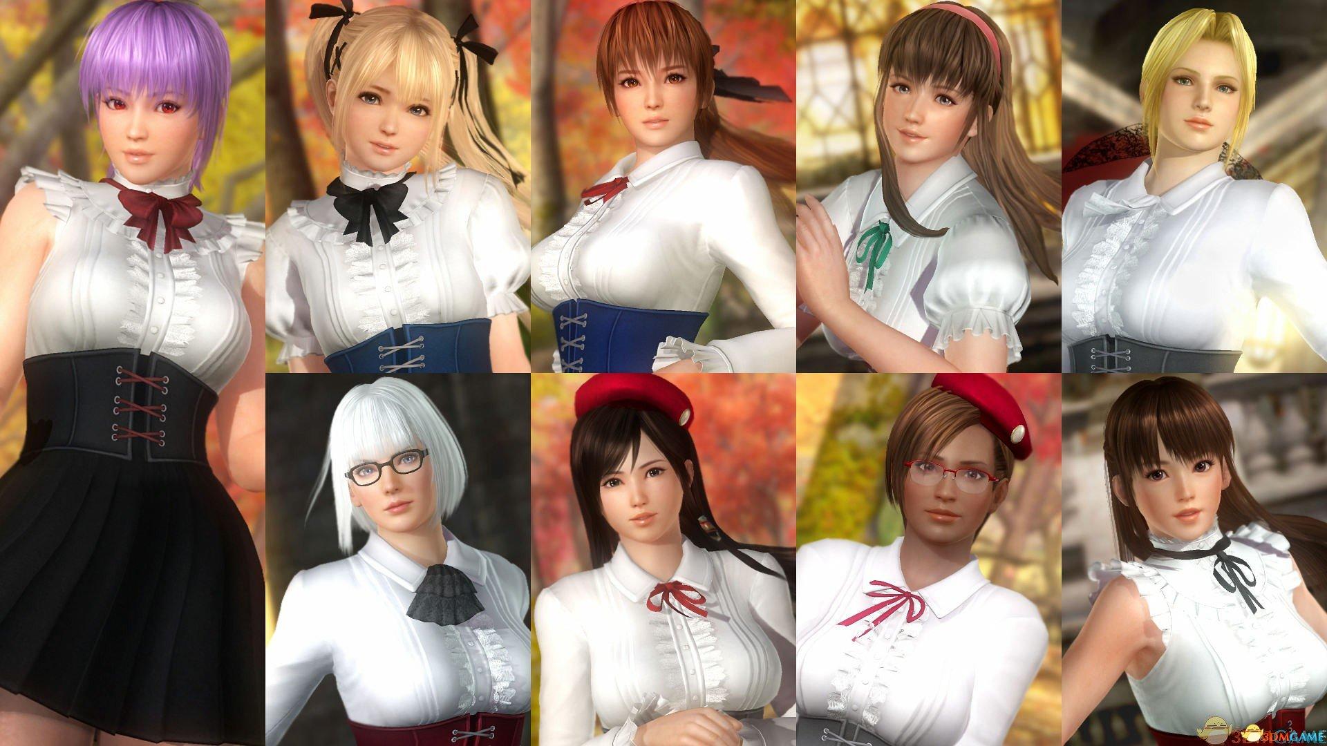 对象角色   霞,绫音,心,瞳,丽凤,蒂娜,la mariposa(里莎),海莲娜