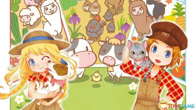 《牧场物语:三个村庄的珍贵朋友》美版发售日服装