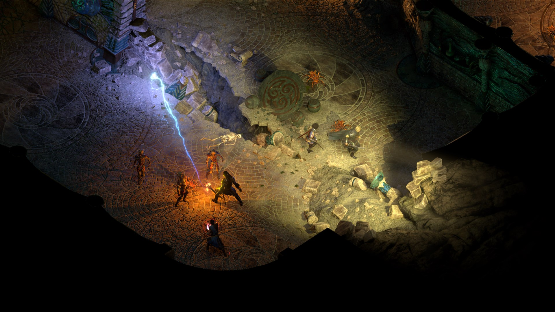 《永恒之柱2:死火》剧情,系统,发布日及汉化