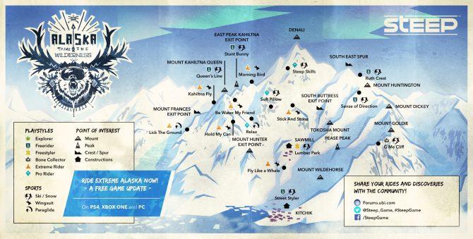 《极限巅峰》第五次免费更新 阿拉斯加地图加入