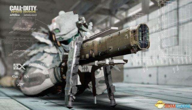 《使命召唤13》太空机甲风原画 展示科幻未来世界