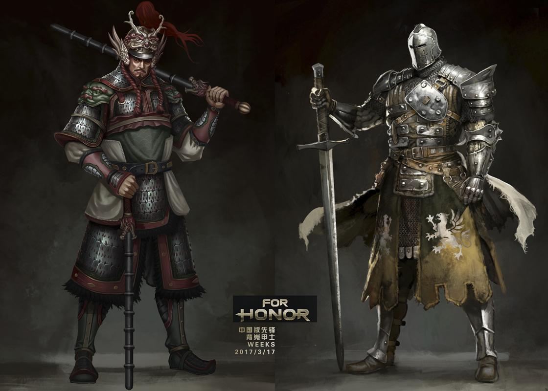 荣耀战魂中国角色会出吗 大神的中国角色背嵬甲士
