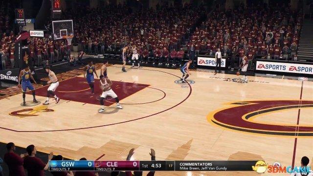 《NBA Live 18》试玩版演示视频 与2K的正面对决