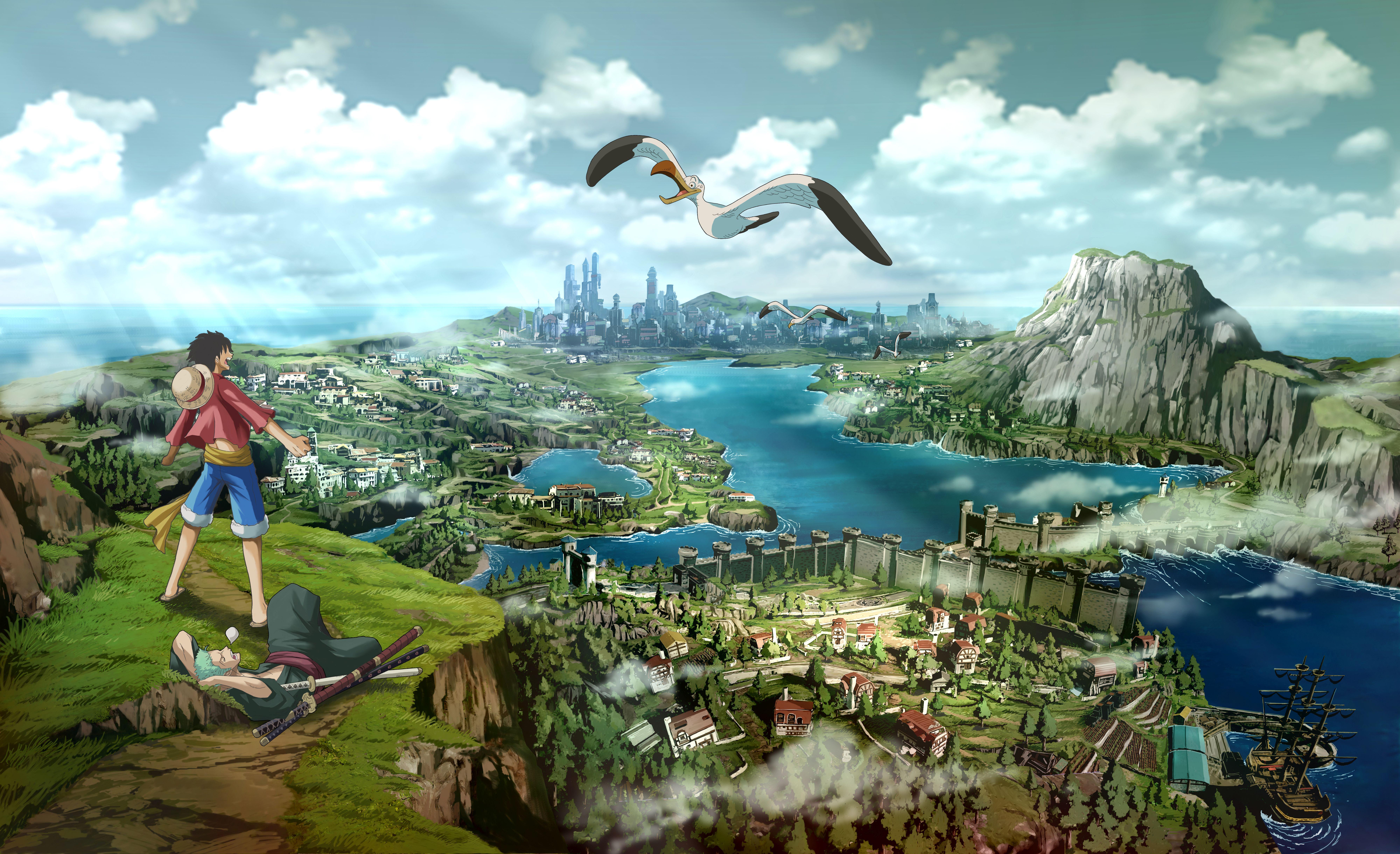 新作《海贼王:世界探索者》视频 路飞大战海军