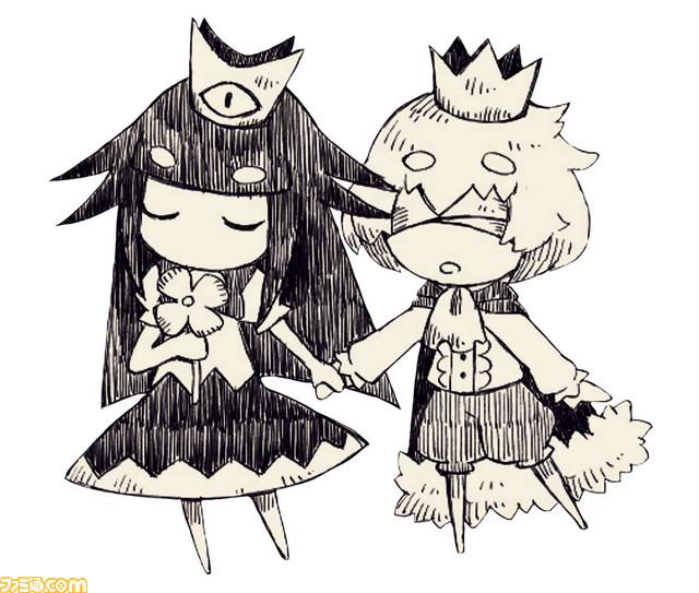 日本一手绘风新作《说谎公主与失明王子》宣传pv