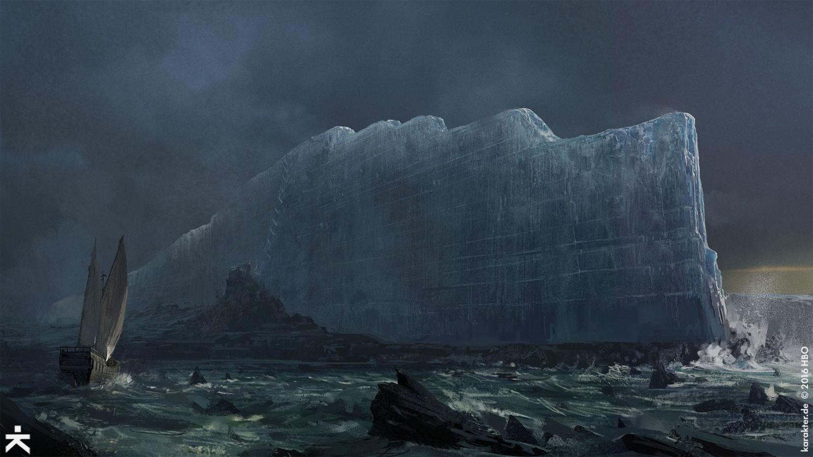 《权力的游戏》第七季概念图欣赏 绝美炫酷场景图片